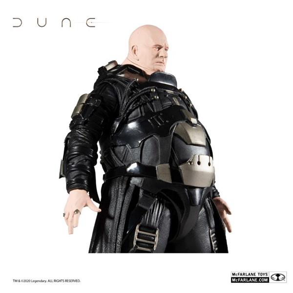 Dune 2021 Baron Vladimir Harkonnen 12 Action Figure Tapout Collectables